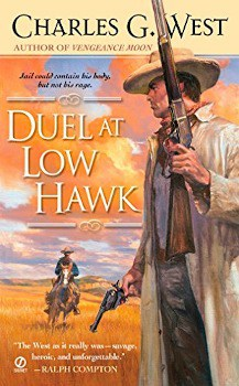 duel at low hawk charles g west, ebook, large print book