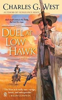 duel at low hawk charles g west, ebook, large print book