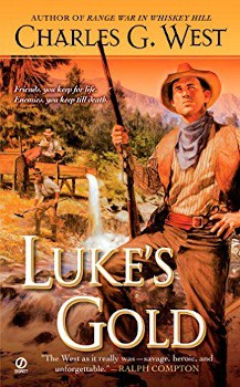 luke's gold charles g west, Large Print,Stand-alone,