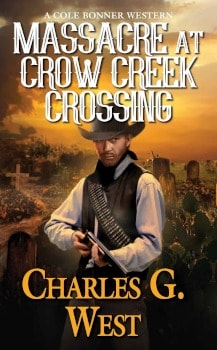 massacre at crow creek crossing,Large Print